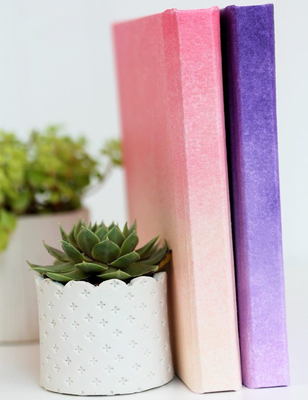 DIY Ombre Journals | Damask Love Blog