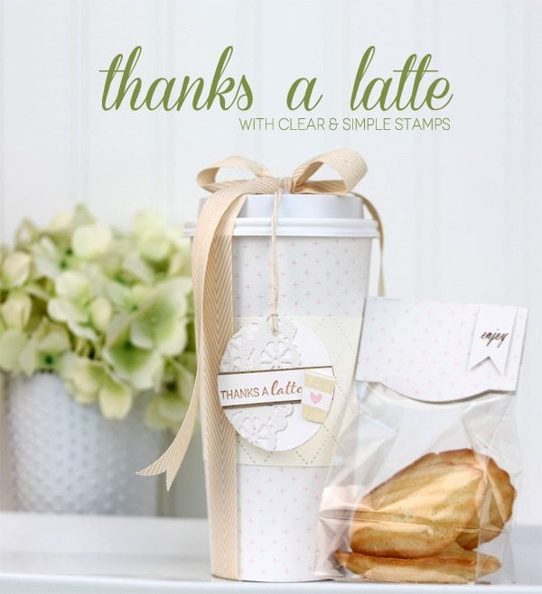 Handmade Thanks a Latte | Damask Love Blog