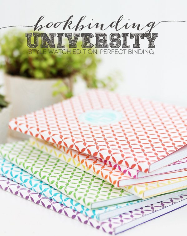 Bookbinding University: Style Watch Edition:: Perfect Binding | Damask Love Blog