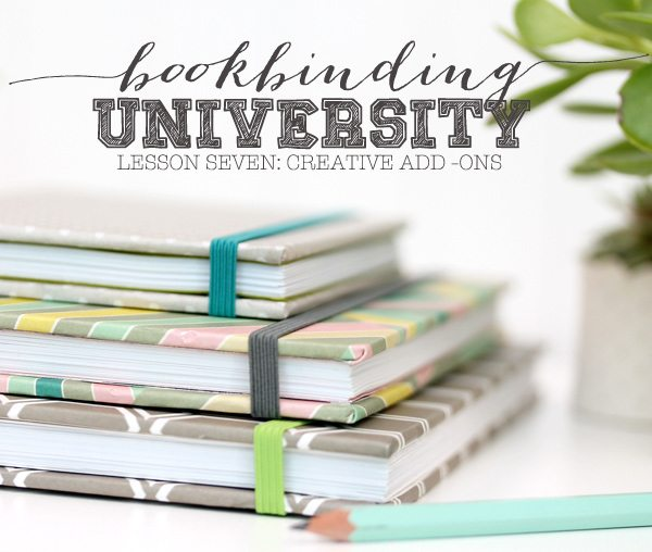 Bookbinding University: Creative Add Ons | Damask Love Blog