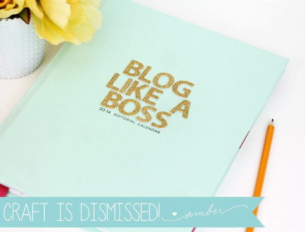 Handbound Editorial Calendar | Damask Love Blog