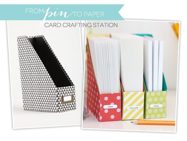 From Pin to Paper: Easy Card Creation Station