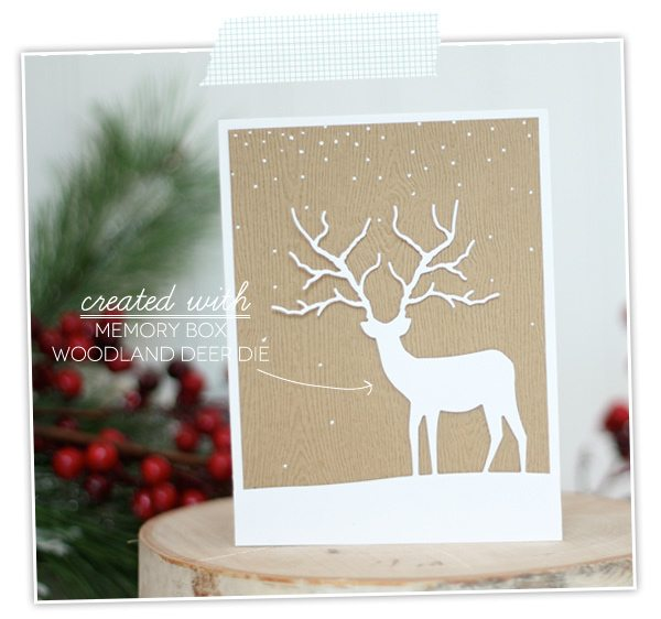 Woodland Deer Die | Damask Love Blog