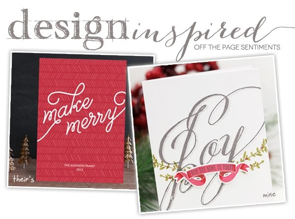 DIY Off the Page Sentiments | Damask Love Blog
