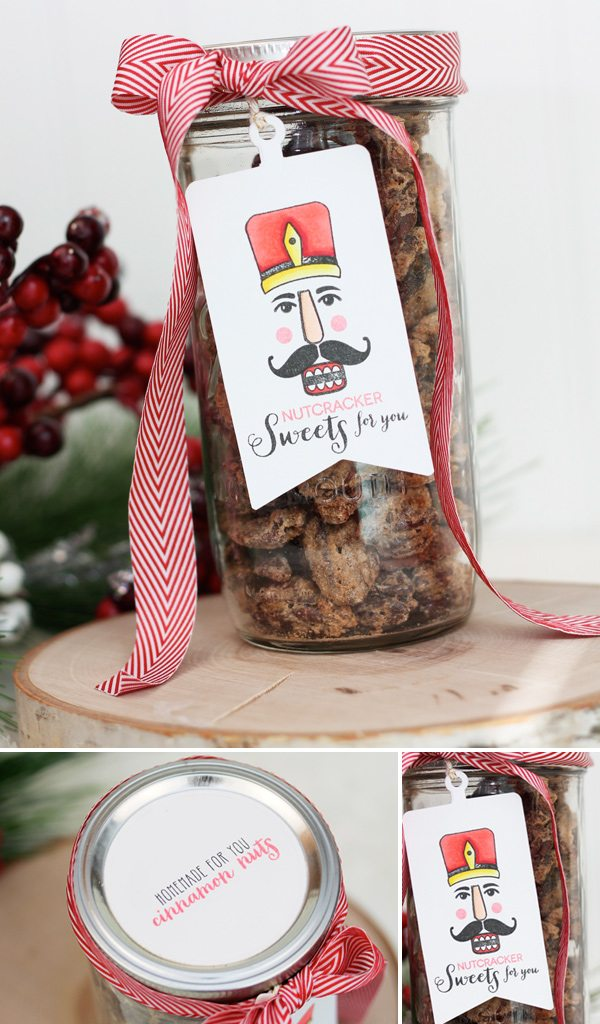Nutcracker Sweets Tag & Gifts | Damask Love