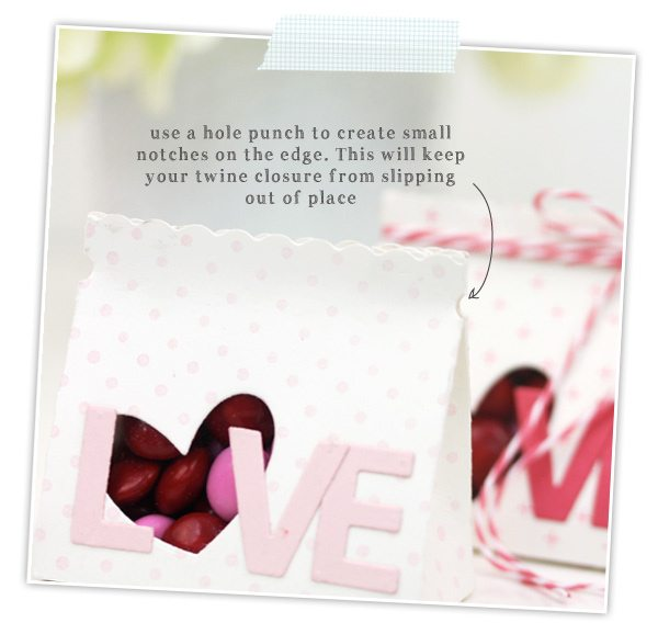 Little Love Valentine's Treat Bags | Damask Love Blog
