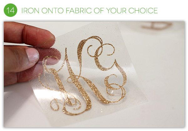 How to Make an Iron-on Monogram | Damask Love Blog