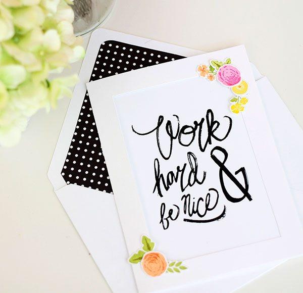 Art Print Stationery | Damask Love Blog