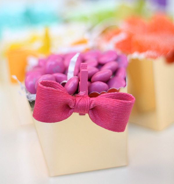 Baker's Twine Mini Bows | Damask Love Blog
