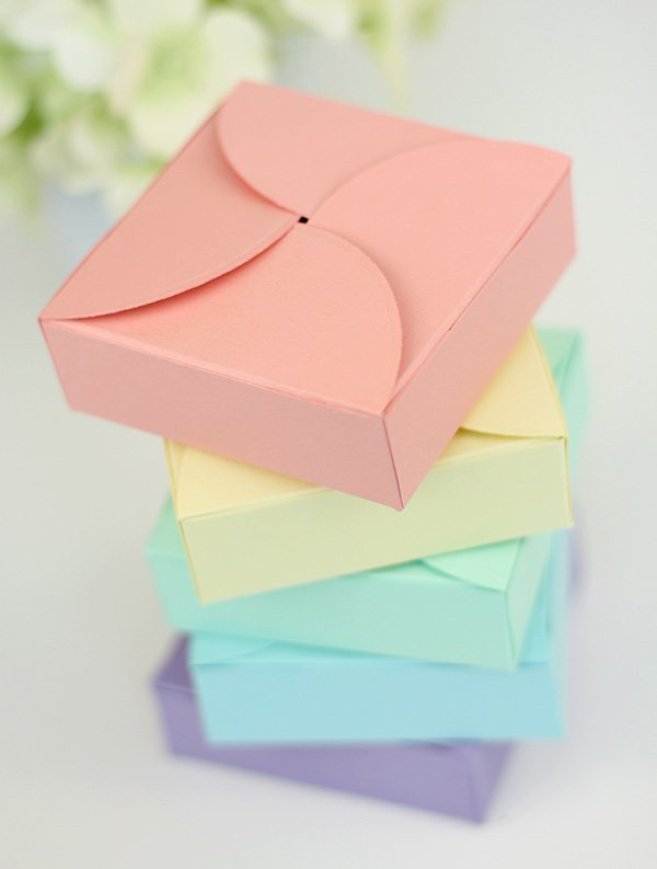 Easy DIY Petal Boxes | Damask Love