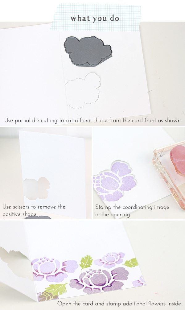 Inside Out Stationery | Damask Love