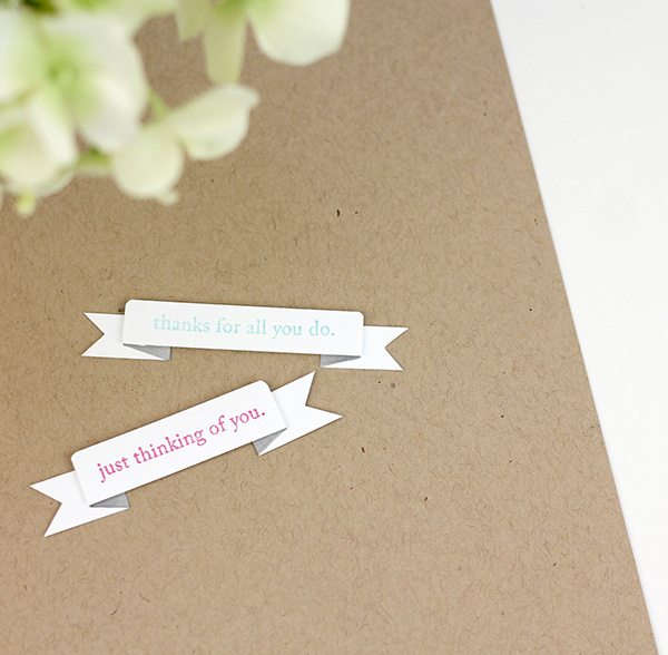 Easy Like Sunday Morning: Simple Banners | Damask Love