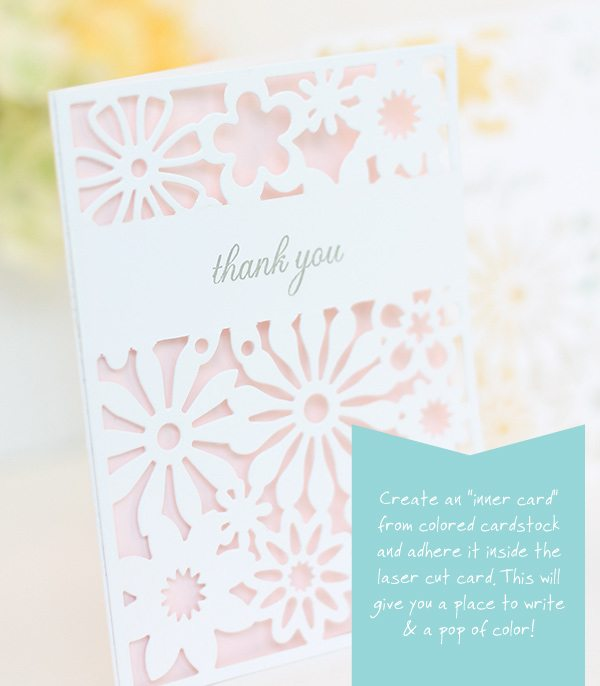 "DIY ""Laser Cut"" Stationery 