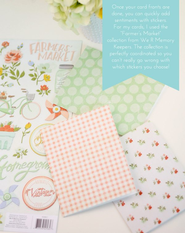 Easy DIY Sticker Front Stationery | Damask Love