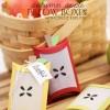 Autumn Apple Favor Boxes with Cricut Explore   Damask Love