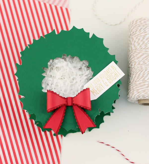 Holiday Wreath Gift Box | Damask Love