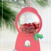 Print Then Cut Gumball Machine Ornament | Damask Love