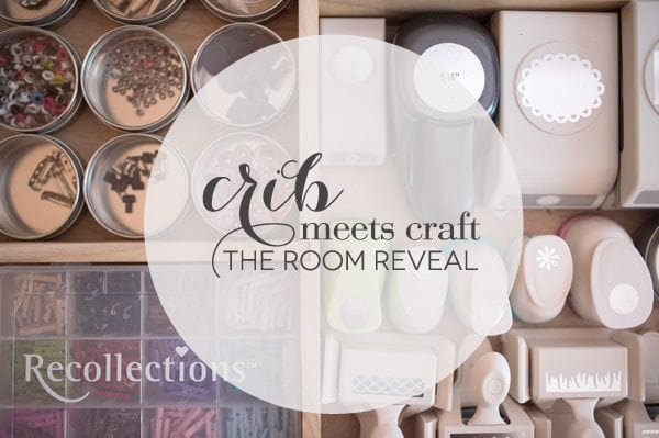 Crib Meets Craft: Nursery & Craft Room Reveal | Damask Love
