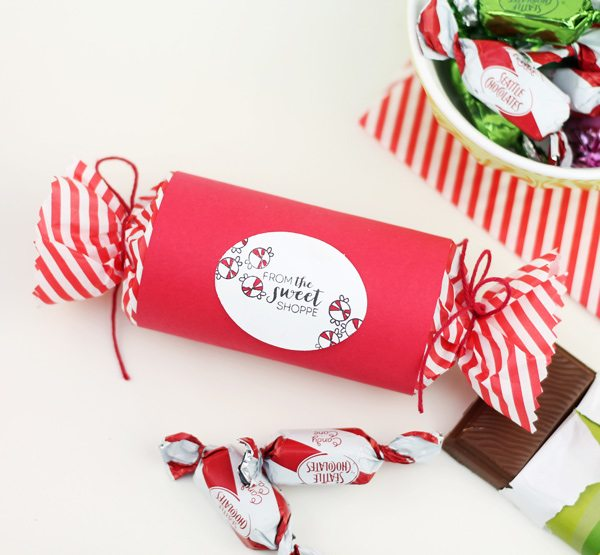 DIY Mail Tube Candy Treat Boxes | Damask Love