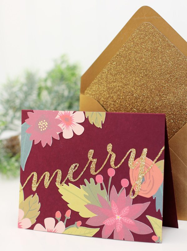 Design Inspired: Rifle Paper Co. Stationery with Cricut Explore Print Then Cut Feature