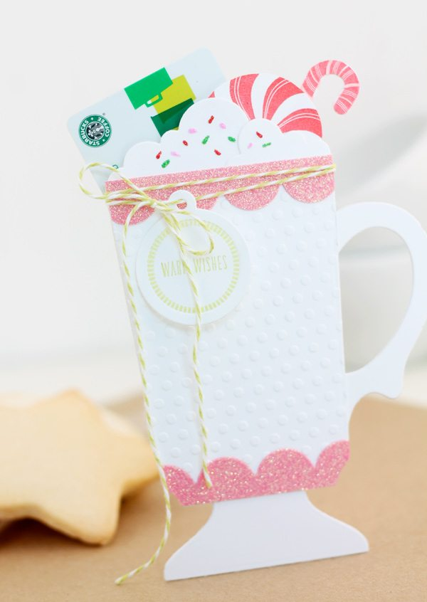 Cup of Cocoa Gift Card Holder | Damask Love