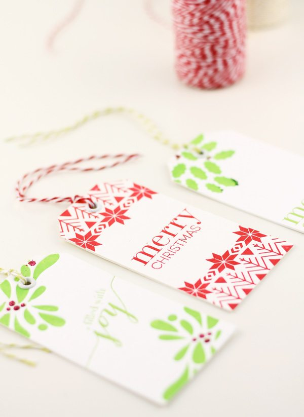 Damask Love & Studio Calico Letterpress Tags | Damask Love