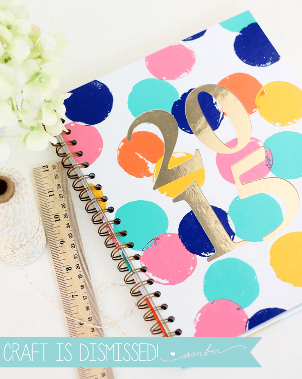 Design Inspired: DIY Sugar Paper Planner | Damask Love