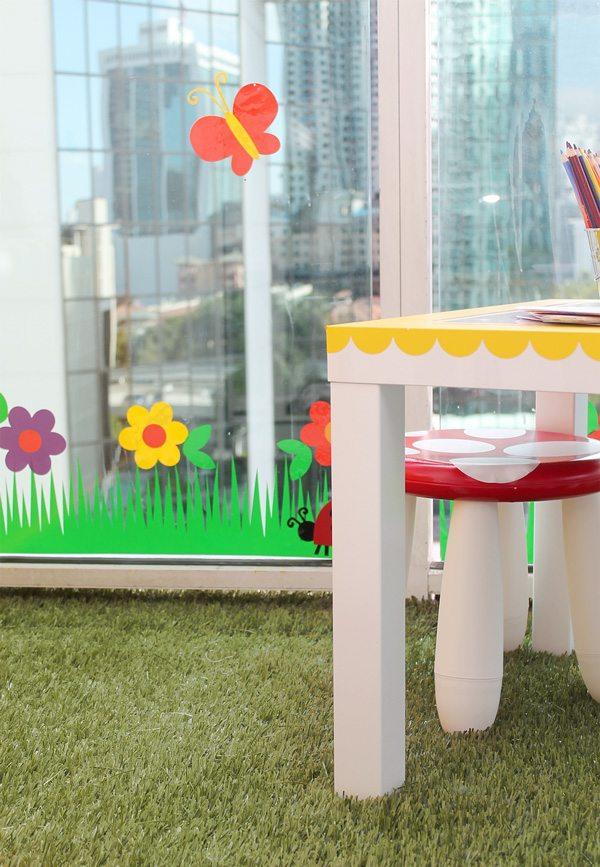 A Playroom in the Sky | Damask Love