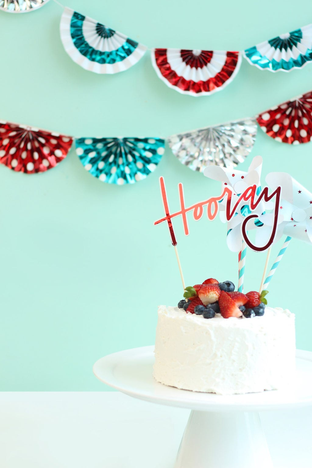 Foiled Bunting Banner and Party Decor | damask love