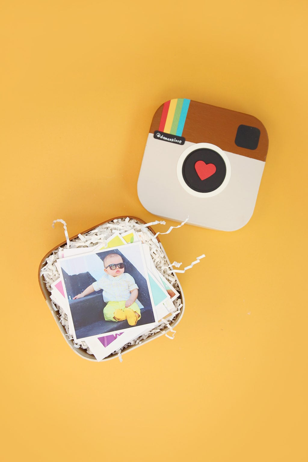 DIY Instagram in a Box | damask love