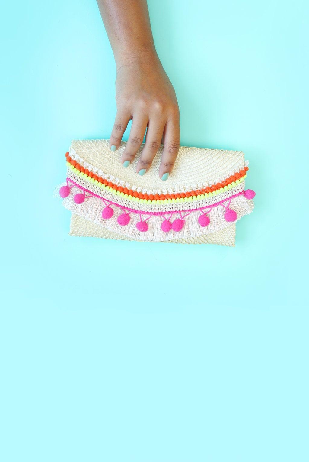 77088f3f50 No-Sew DIY Placemat Clutch