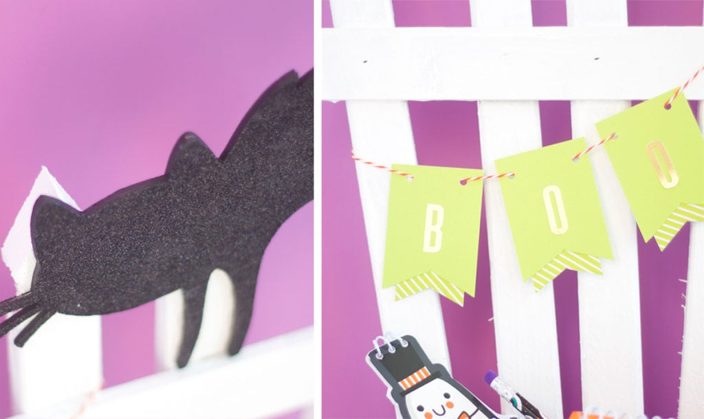Spooky Fence Candy Holder | damask love