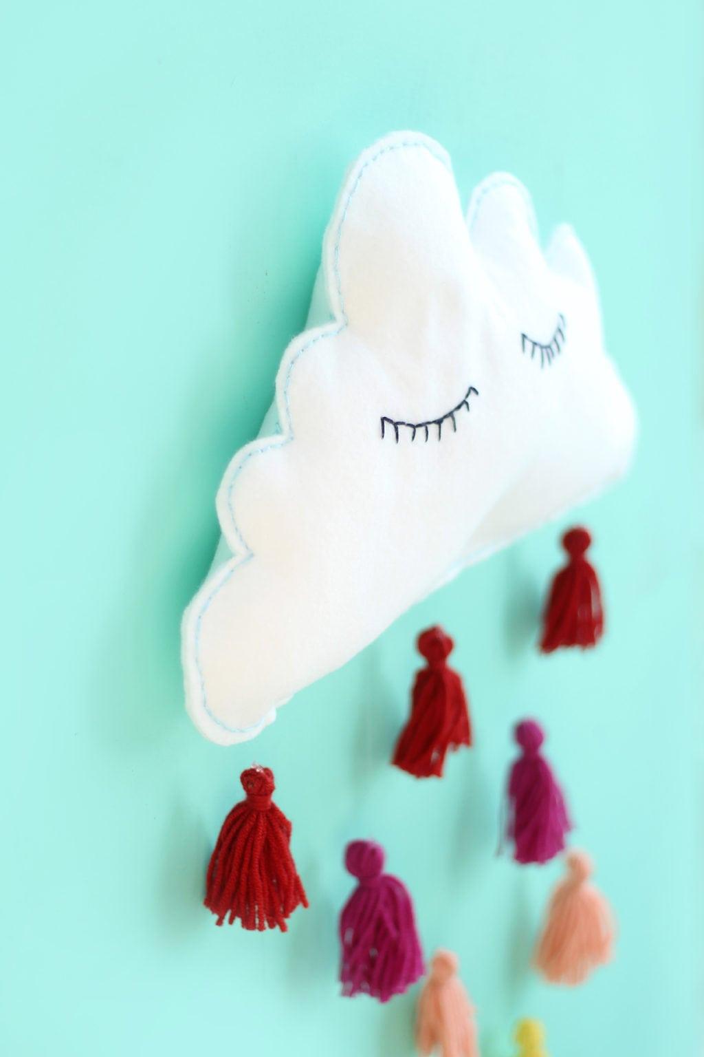 Clouds & Tassels Wall Decor | damask love
