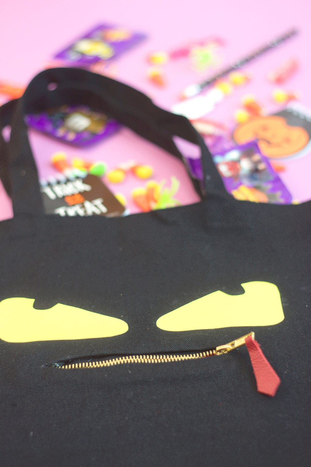 DIY Fendi Inspired Monster Tote Bag | damask love