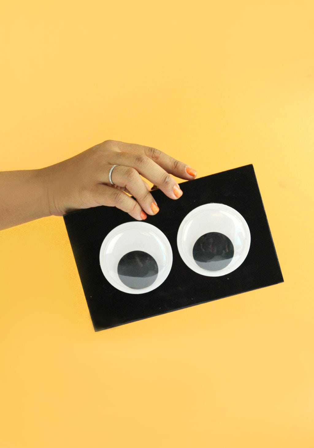 DIY Googly Eye Clutch | damask love