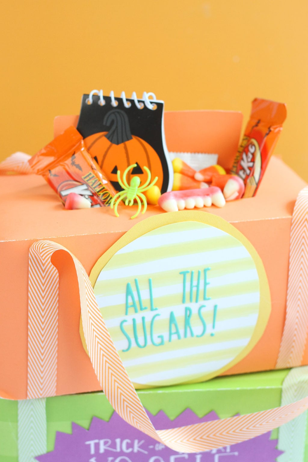 Candy Box Trick or Treat Bags |damask love