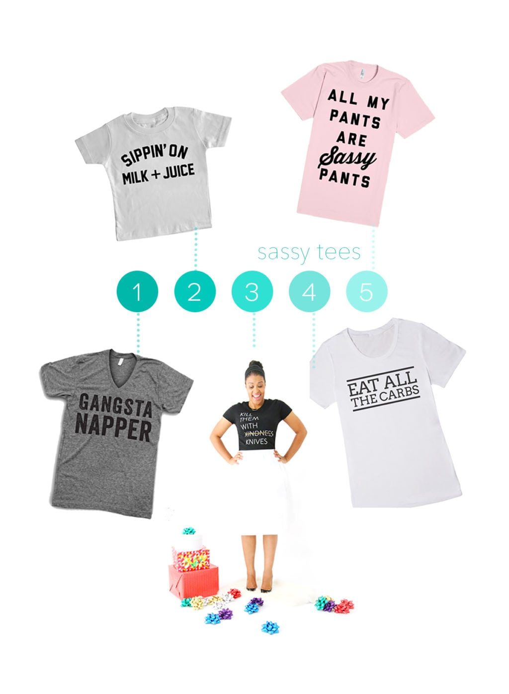 Sassy Tees Holiday Gifts