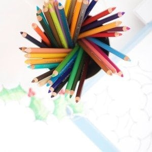 Prismacolor Christmas Coloring Cards