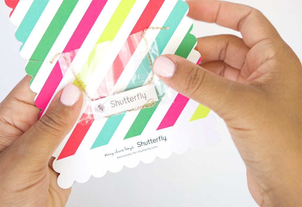 Custom Holiday Jewelry Gifts with Shutterfly | damask love