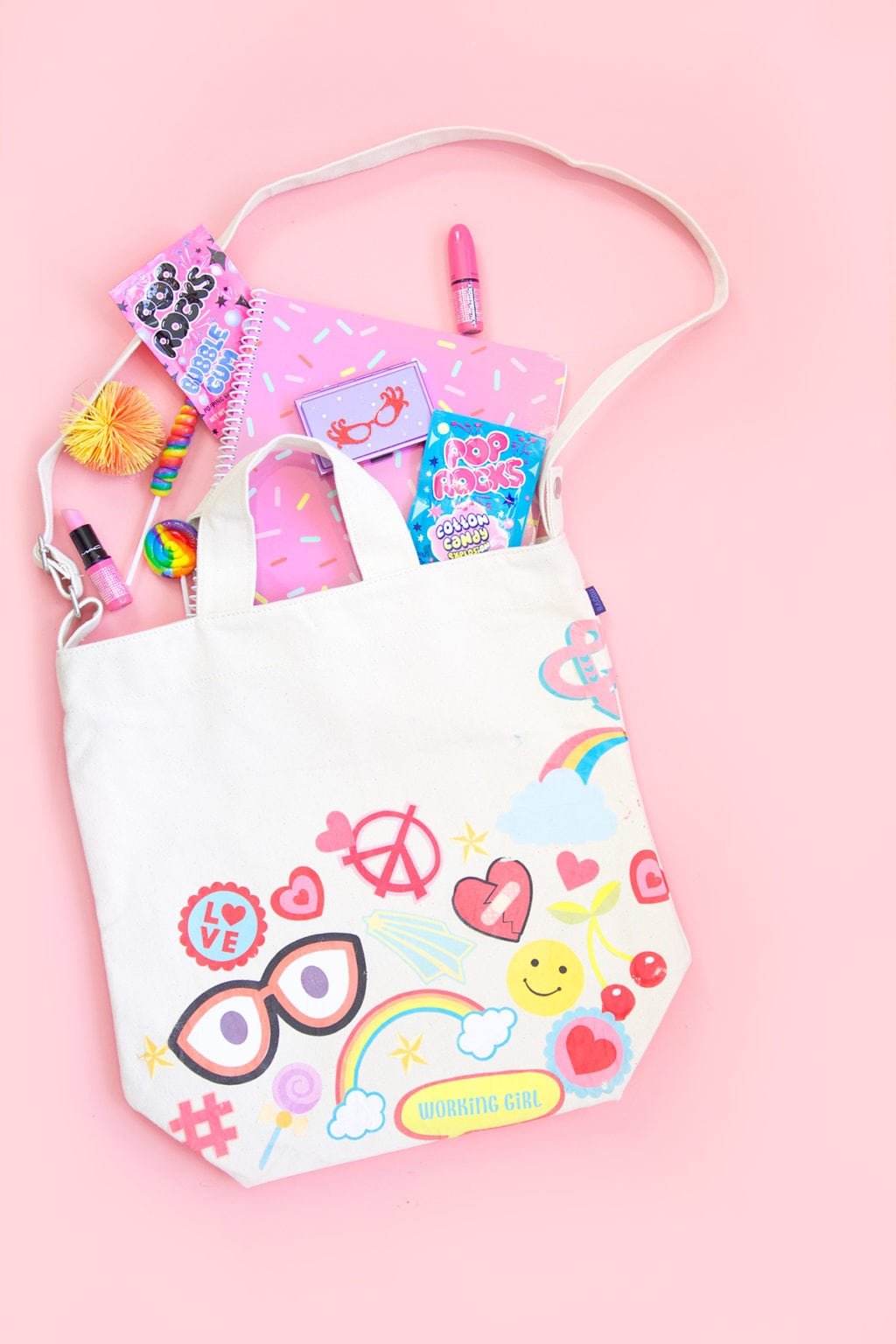 DIY Flair Tote Bag