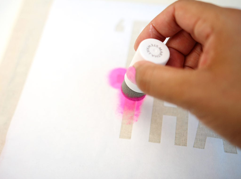 Tips for Making Freezer Paper Stencils | Damask Love