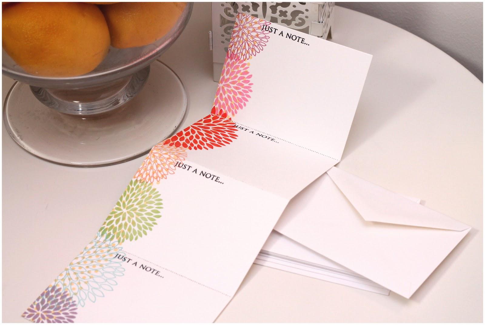 perforated note cards  u0026 card set envelope tutorial