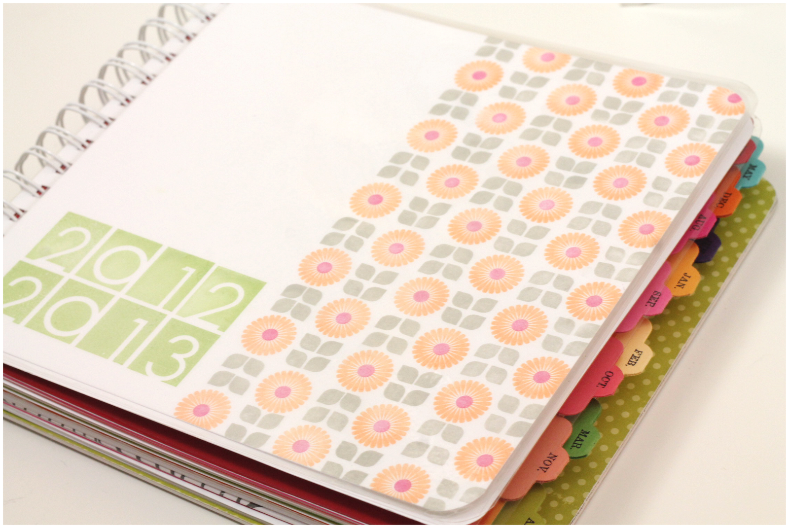 A Diy Planner Project Damask Love
