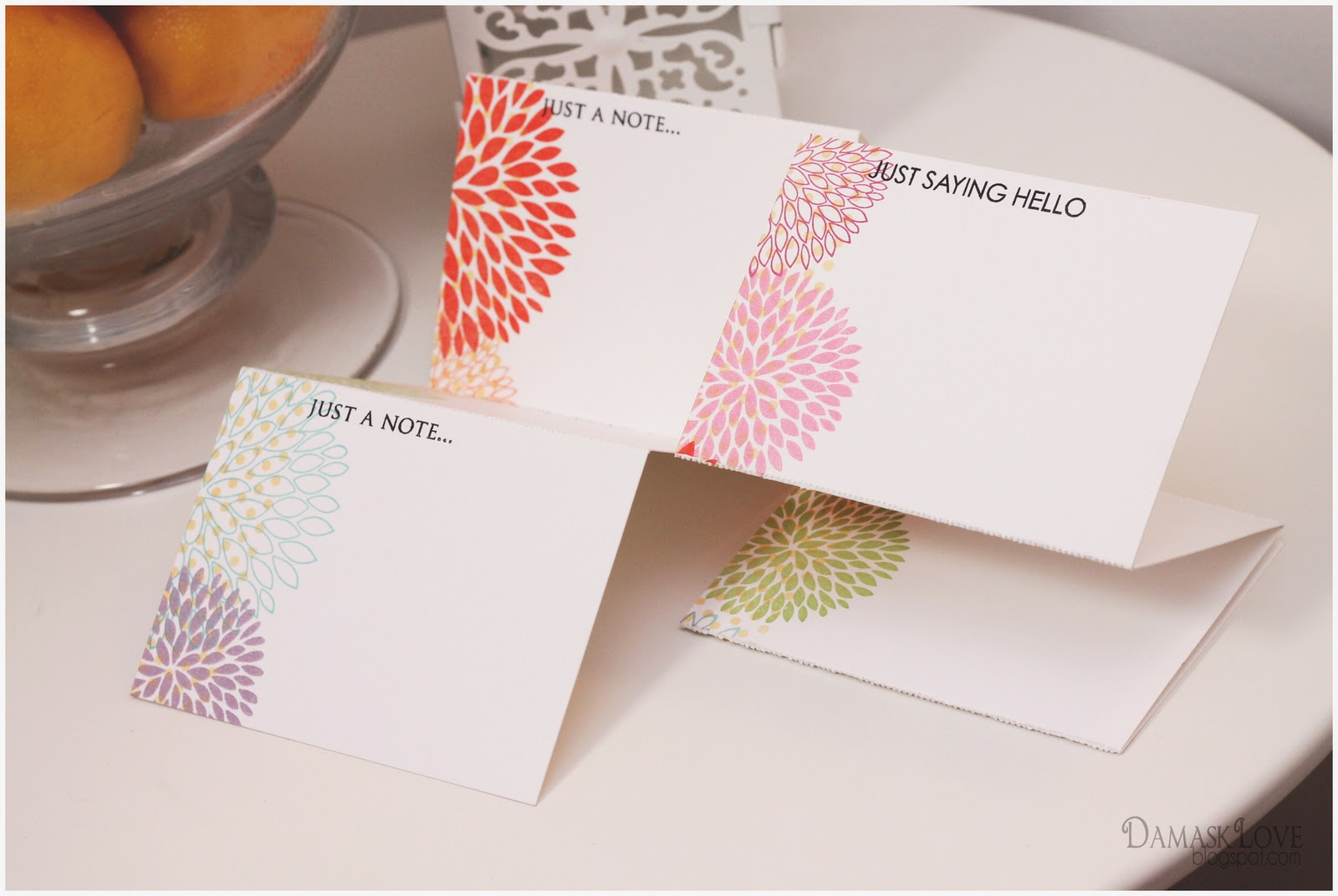 Gifts Perforated Note Cards Card Set Envelope Tutorial