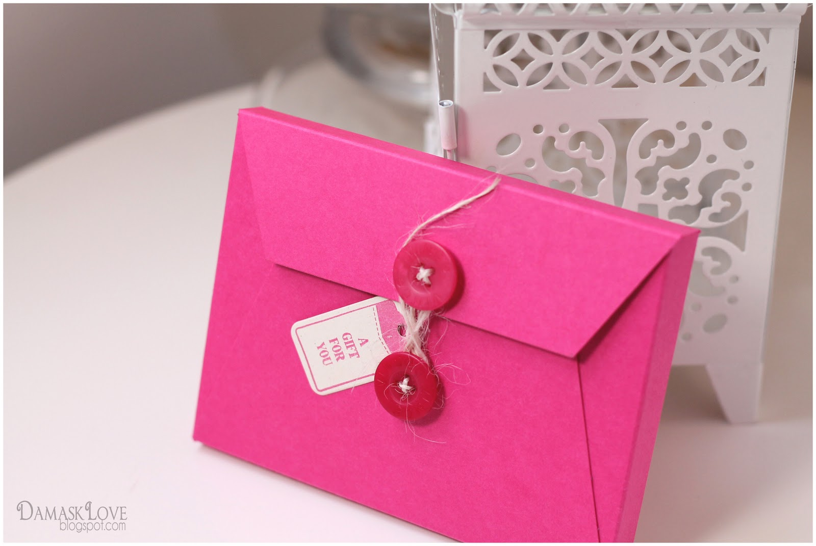perforated note cards  card set envelope tutorial