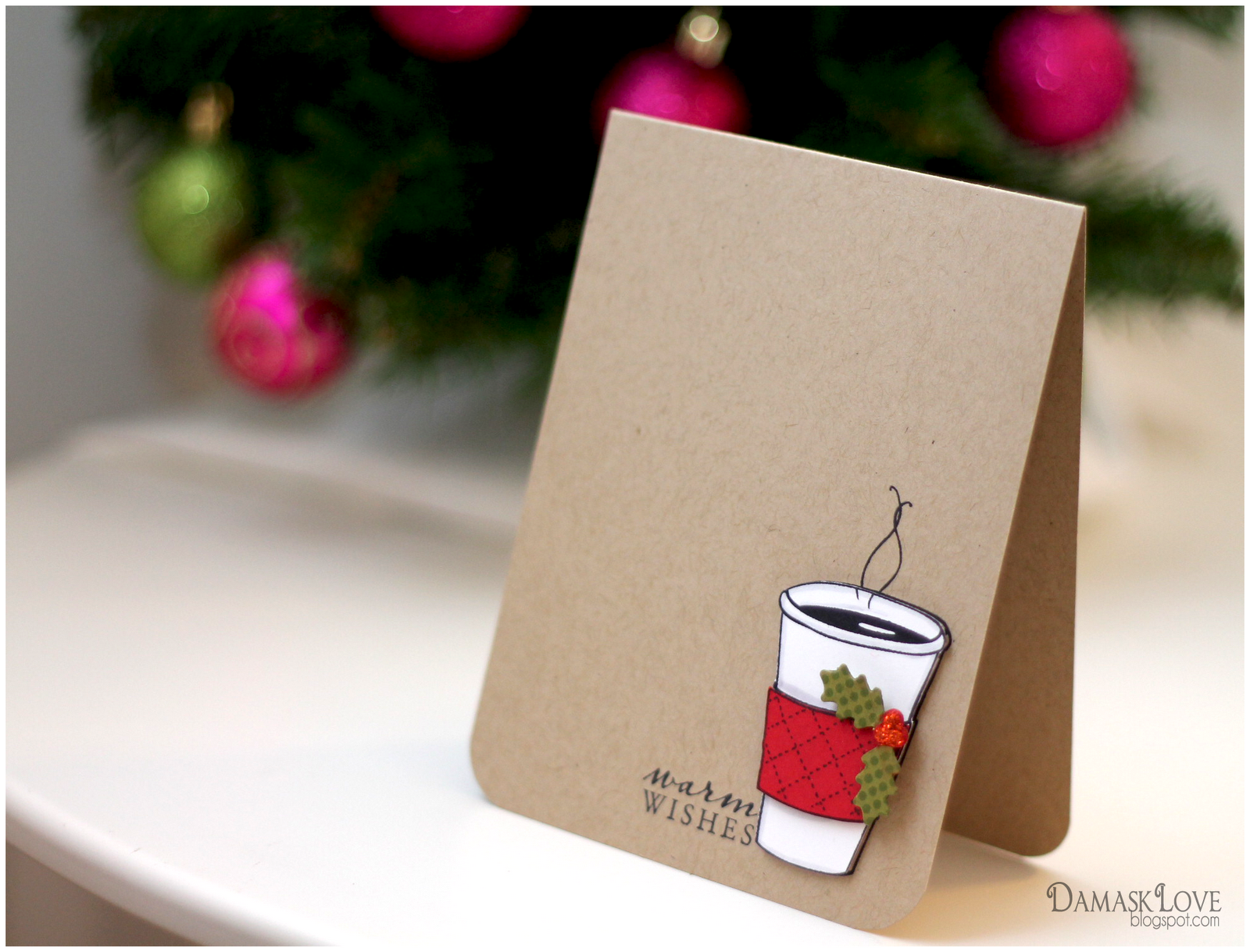 diy quirky christmas cards with hero arts