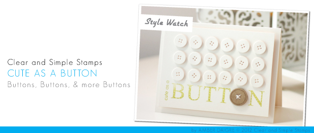 CSS Style Watch: Cute as a Button | Damask Love